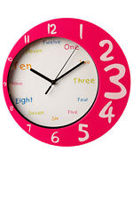 Funky Childrens Round Wall Clock