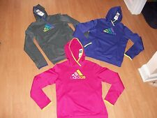 Adidas Womens Fleece Performance Hoodie, Many Colors and Sizes, MSRP $55.00