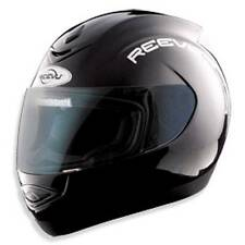 Reevu MSX1 Black Matt / Gloss Rear View Motorcycle Helmet Full Face Bike Scooter