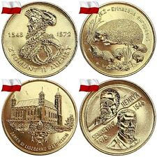 GBP | POLAND 2 ZL 1995-2002 YEAR COMPLET ALL COMMEMORATIVE COINS ZLOTE YEARS SET