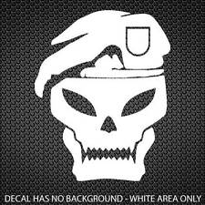 Call of Duty Black Ops Skull COD Decal Sticker | Large