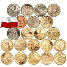 GBP | POLAND 2 ZL 2011-2013 YEAR COMPLET ALL COMMEMORATIVE COINS ZLOTE SET