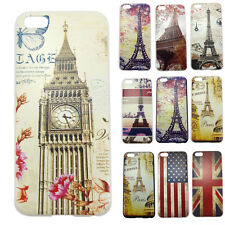 BIG SALE Eiffel Tower Flag Protector Cases Covers Skins Back For Apple iPhone 5C