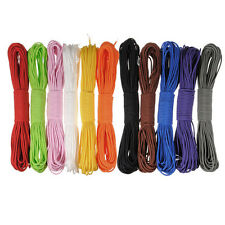 New 100FT 550 Paracord Men's Desert Survival Parachute Cord 7 Core Strand Nylon
