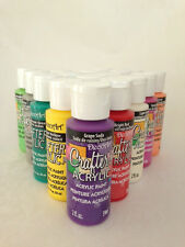 DECOART CRAFTERS ACRYLIC PAINT ALL COLOURS ARTS CRAFTS WATERBASED ARTIST