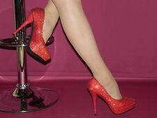Party-Schuh rot Gr.