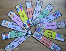 Toy room / activities labels~full colour cards~Childminder~Nursery~Pre-Schools~