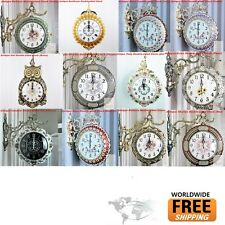 Antique Clock ( Double Sided Clock ) wall clock 1 - Free Shipping