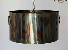 Art Deco Metal Pendant Light Swag Lamp Chandelier Rustic Industrial Vintage Goth