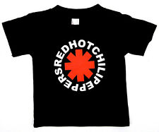 Red Hot Chili Peppers Baby Infant T-shirt RHCP Rock Star Tee 6M,12M,18M,24M New