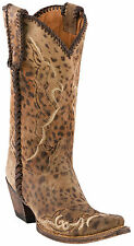 Lucchese Since 1883 Women's Catania Cheetah Print Western Boots
