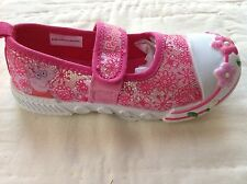New Peppa Pig shoes pumps ballerinas sneakers girls pink sparkly 6-11