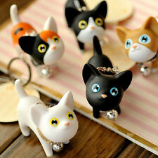 New Couple Lovers Cute Cat Kitten Keychains Key Rings Chain Bag Ornament Wedding