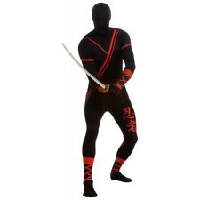 Ninja Costume Adult Full Body Suit 2nd Skin Zentai Halloween Fancy Dress