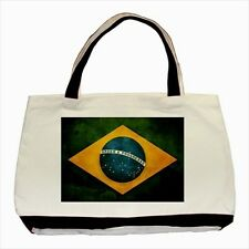 Brazil Grunge Flag - Tote or Recycle Bags (9 Options) -TU4136