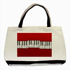 Red Piano Keys / Music Design - Tote or Recycle Bags (9 Options) -TU4680