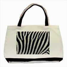 Zebra Texture Design - Tote or Recycle Bags (9 Options) -TU4903