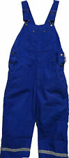 Walls Heavyweight Cotton Duck Bib Overall Color Royal  Size Med to 4X