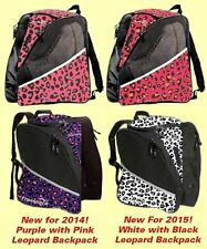 Transpack Leopard Ice Skating Backpack - 4 COLOR CHOICES - NEW WHITE WITH BLACK!