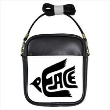 Peace Symbol - Messenger, Sling, or School Bag -Wx4608