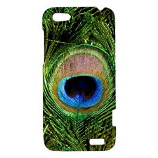 Peacock Bird Feather - Hard Case for HTC Cell (30 Models) -OP4753