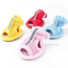 Cute Color Cozy Fashion Sandals Boots Shoes For Small Large Dog Puppy Size 1-5#
