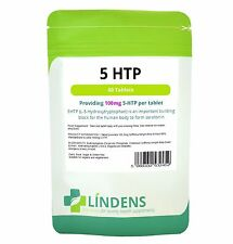 5-HTP 100mg Tablets, (60/120/365/1000) Depression, Anxiety, Insomnia, Lindens