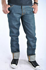 Nudie Jeans Even Steven Organic Dry Cotton Denim Straight Leg Rollbaum