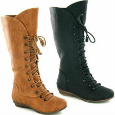 SALE SPOT ON GIRLS CUTIE LACE UP/ZIP BOOTS H4075 IN BLACK & TAN FOR ONLY £9.99