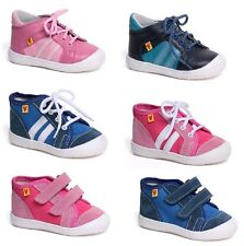 Girls and boys sneakers + causal shoes - LEATHER + ANATOMIC + CANVAS