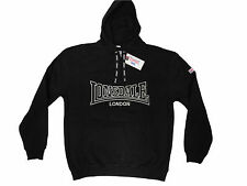 Lonsdale Berger Sweatshirt Hoodie Old Model Regular Fit Boxing Black Size S