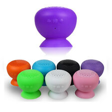 Premium Bluetooth Speaker Mini Suction Cup 7 Colors, Hands-Free Talking