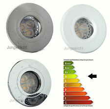 1-Ensemble De 20 Versions d'Installation AQUA IP44 230V GU10 5W=50W LED Classe A