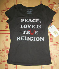NWT True Religion Womens T-Shirt Top Shirt LOGO Size XS S M L XL