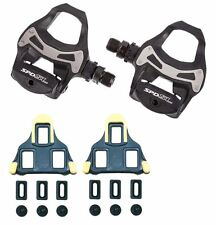 Shimano PDR550 SPD SL Road Bike R550 Pedals SH11 Cleat Option BLACK MRRP £49.99