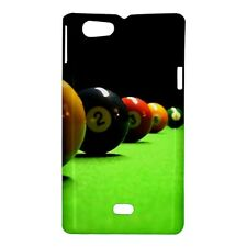 Pool Balls / Table Design - Hard Case for Sony Xperia (8 Models)-CD4797