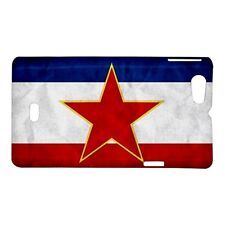 Yugoslavia Grunge Flag - Hard Case for Sony Xperia (8 Models)-CD5093