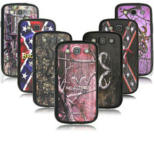 Realtree browning deer camo desgin  case for Samsung Galaxy S3 i9300 PC+T  A0113
