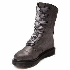 NEW GENUINE DR MARTENS DOCS WOMENS PEWTER AIMILIE TRIUMPH BOOTS 15659651
