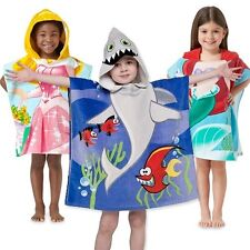 "Northpoint Kids 24""x48"" 100% Cotton Hooded Beach Towel-Boys & Girls"