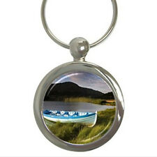 Anchored Boat Scenery - Key Chain (7 Styles) - ii4050