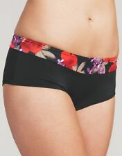 Midnight Grace Swimwear Bikini Brief Flamenco Rose Short 503 Select Size BNWT