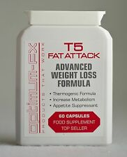T5 Fat Burner Attack Matrix Strong EPH ECA T6 Extreme Diet Pill Ephedrine Free