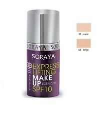 SORAYA 3D EXPRESS LIFTING MAKE UP SCENIC FOUNDATION ANTI AGEING SMOOTHING