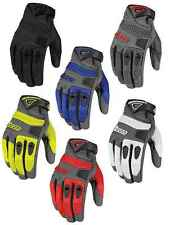 Icon Mens Anthem Mesh Leather Street Motorcycle Gloves All Sizes
