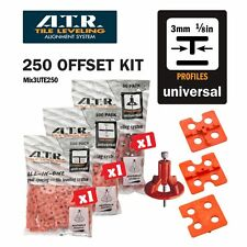 ATR Tile Leveling Alignment System KITS Spacers and Spindles T-Shape Spacers 3mm
