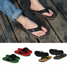 Mens Casual  Flip Flops Sandals Slipper Beach Home 4 Color US Size 7 8 9 10 11
