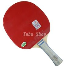 RITC729 1060# Pips-In Table Tennis Racket Bat Paddle Blade with a full case