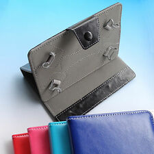 Folder Stand Flip leather Case cover Amicroe TouchTab S10 Tablet AMI-TTS10 10.1""