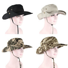 2014Unisex Cotton Camping Fishing Hunting Bush Outdoor Bucket Hat Sun Protection